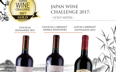 Our wines start 2018 with great awards