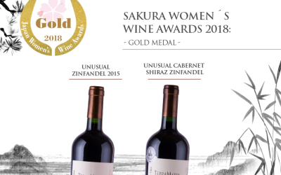 Once again, we stand out in the Sakura Women's Wine Award 2018