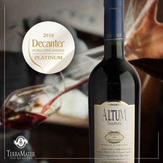 Good news from our Altum Merlot!