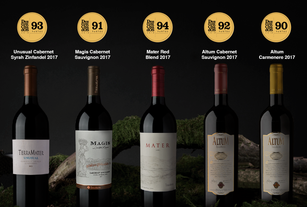Our wines stood out in Descorchados 2019!