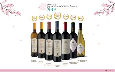 We take our wines to the Sakura Japan Women's Wine Awards 2019